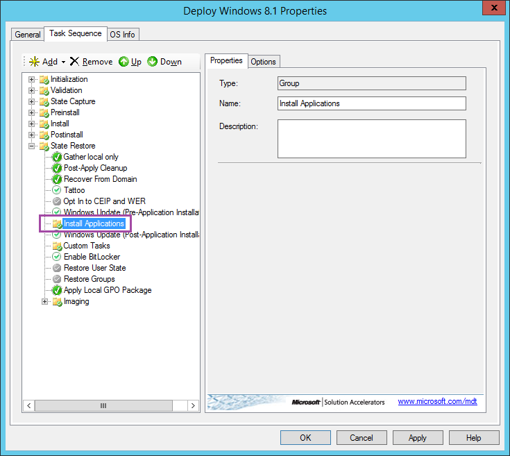 MDT 2013 Guide 11: Creating Deployment Task Sequence » Sean's Blog